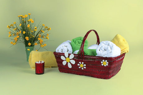Bathroom Basket Decor  FaveCraftscom