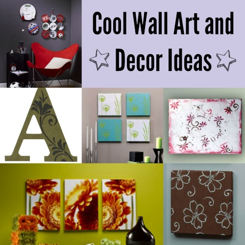 26 Cool Wall Art and Decor Ideas  5 New DIY Projects  FaveCraftscom