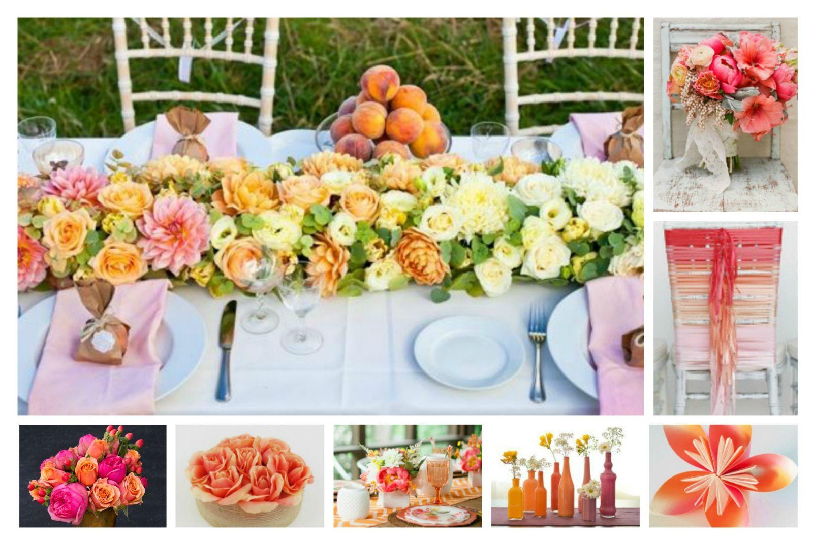 Wedding Color Schemes: Pink, Coral, And Orange