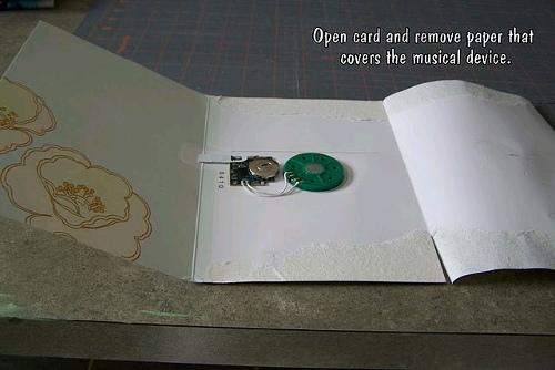 Repurposed Musical Card FaveCrafts Com