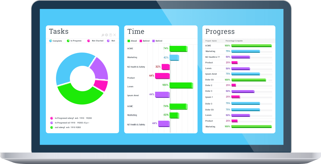 simple project tracking template
