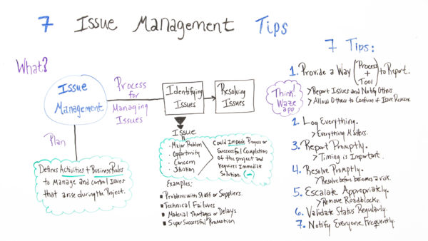 Issue Management For Projects