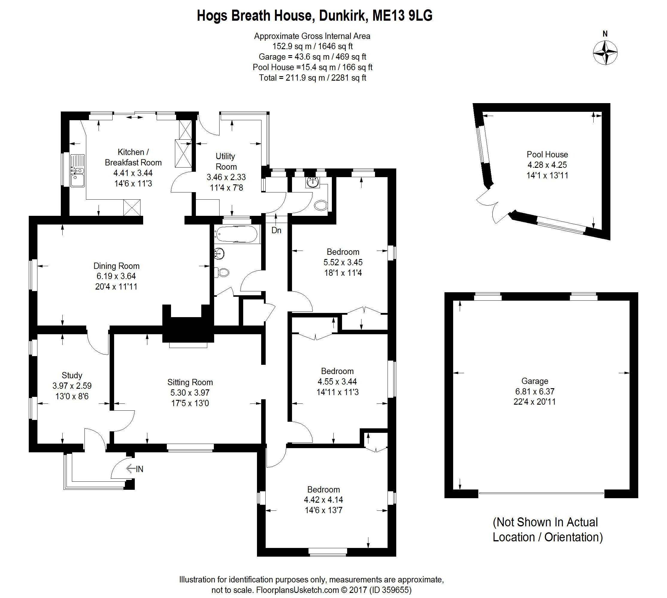 3 bedroom Detached House for sale in Dunkirk