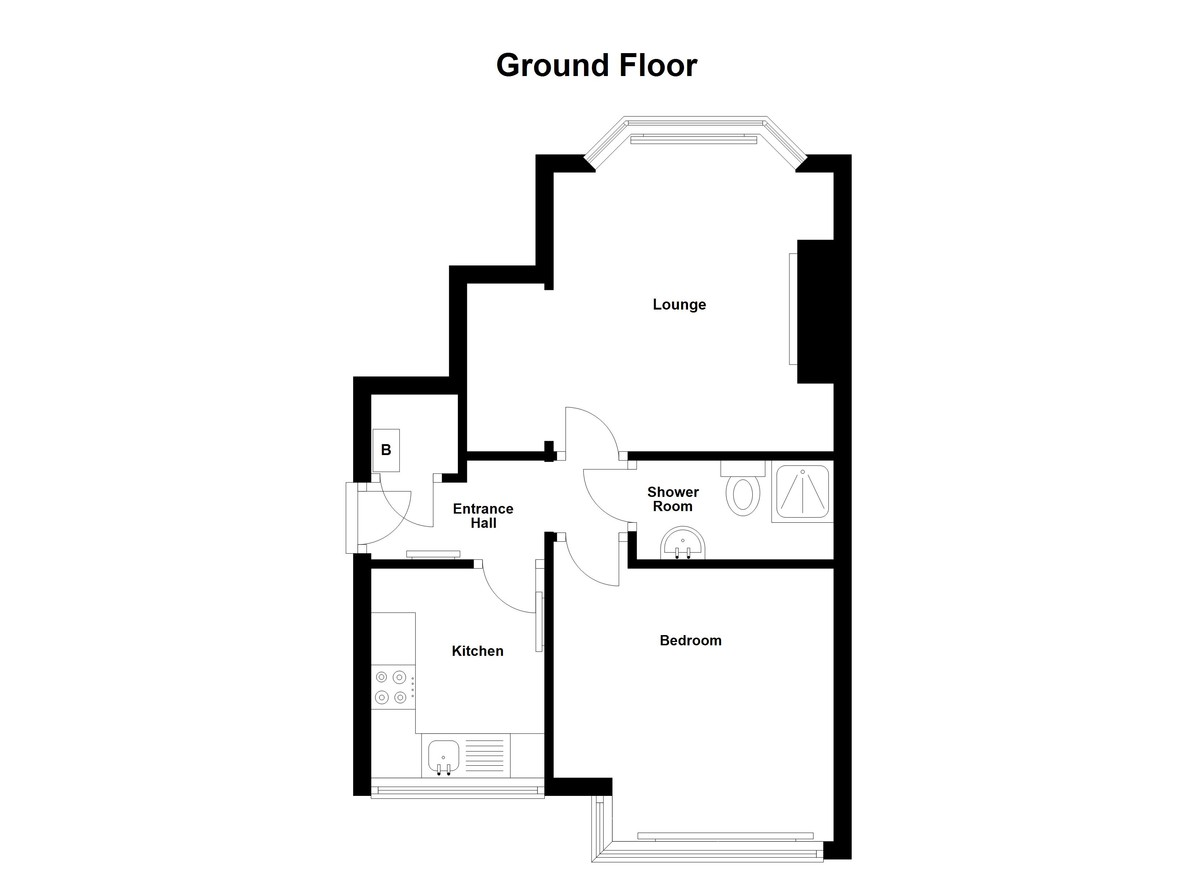 1 bedroom Ground Flat for sale in Blackpool