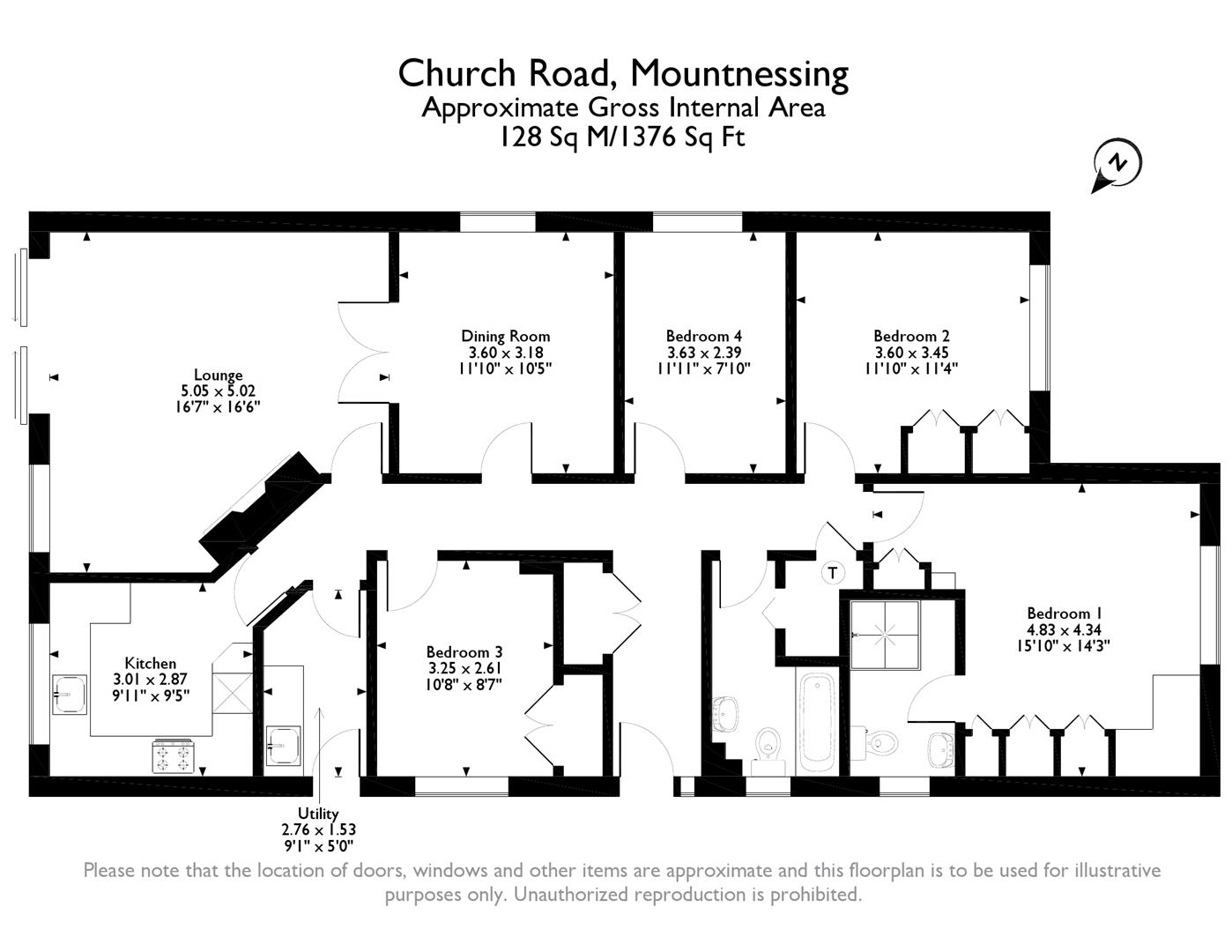 4 Bedroom Detached Bungalow For Sale In Mountnessing