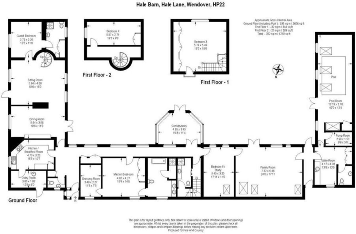 5 bedroom Barn Conversion for sale in Buckinghamshire