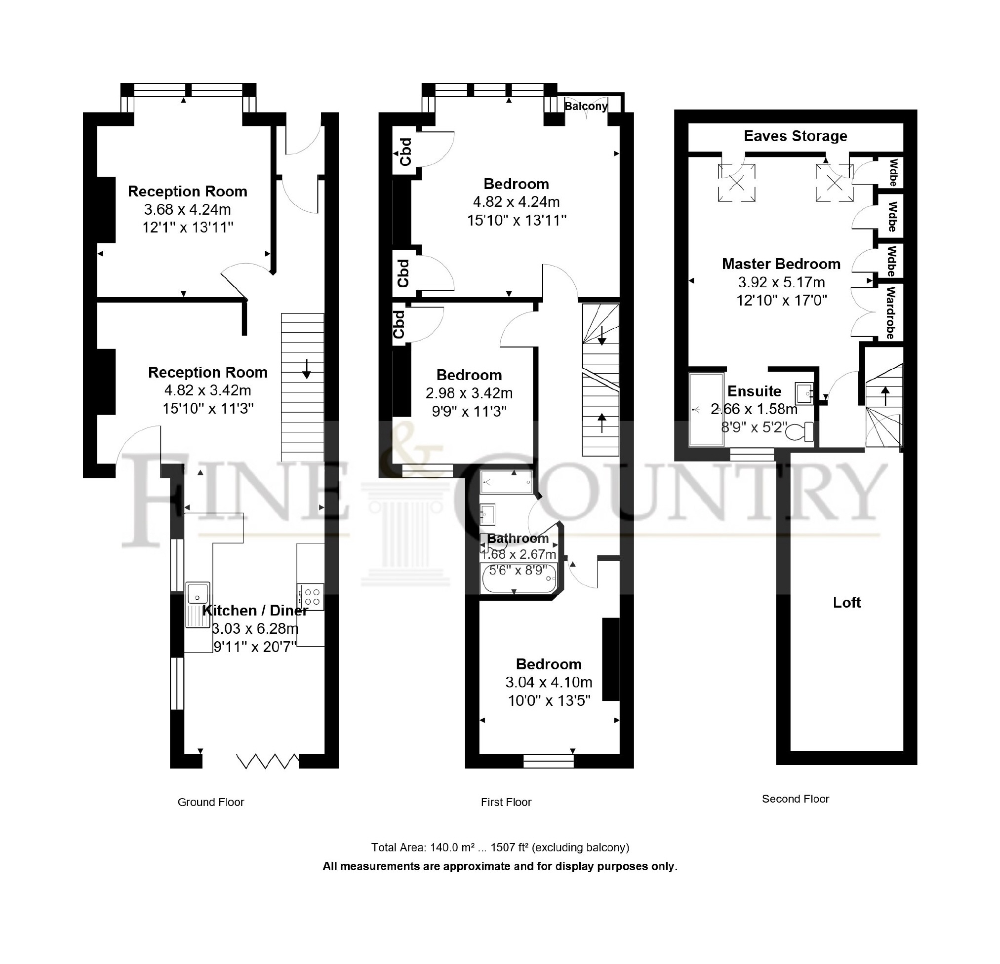 4 bedroom Terraced House for sale in Brighton