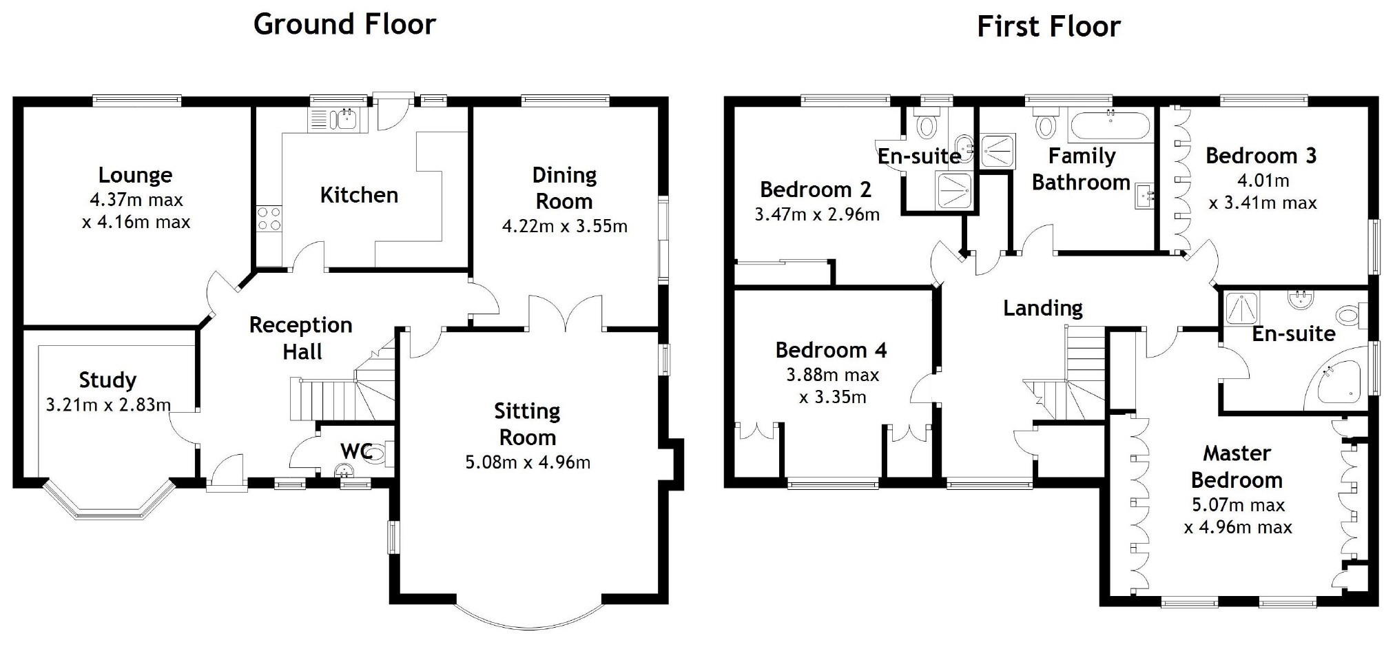 4 bedroom Detached House for sale in Near Chepstow