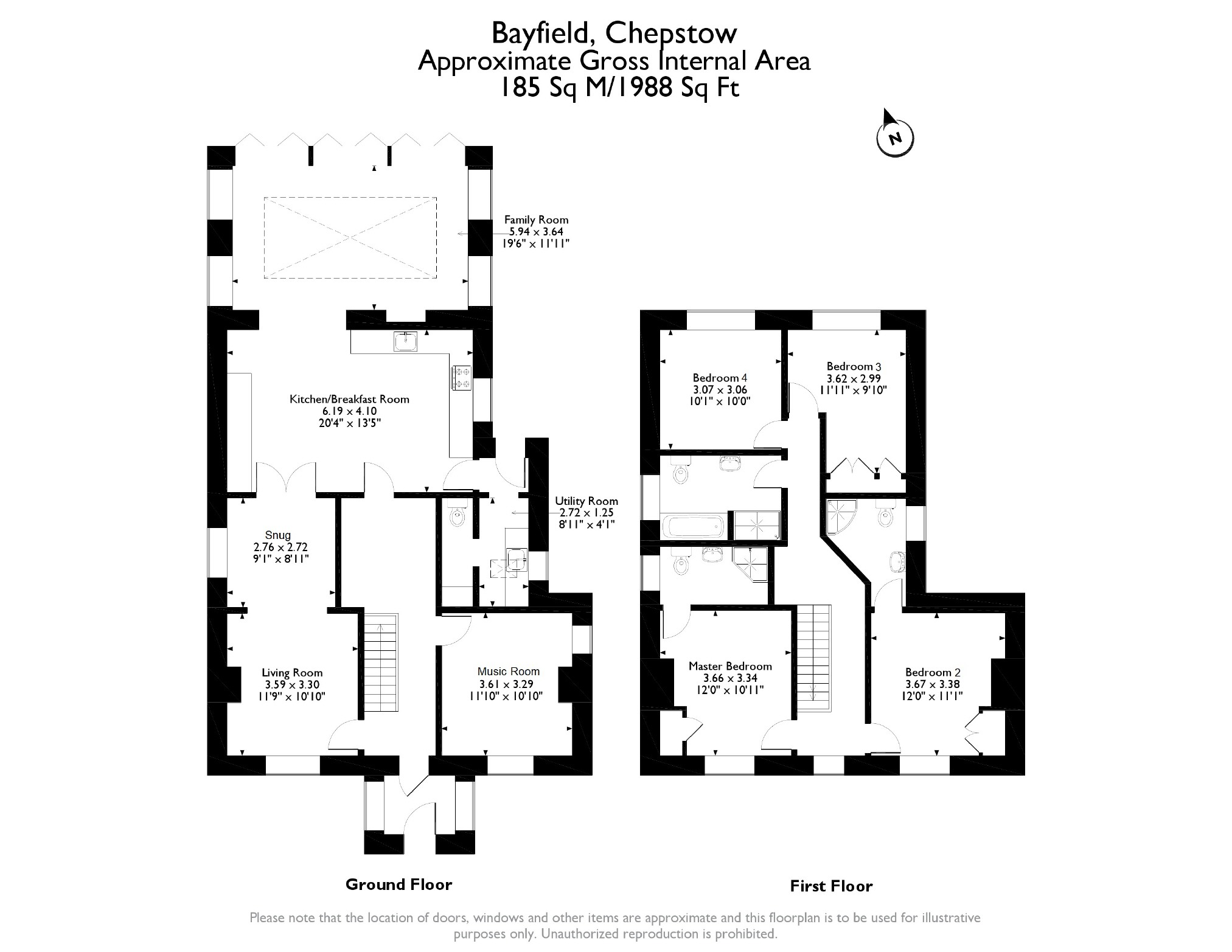 4 bedroom Detached House for sale in Chepstow