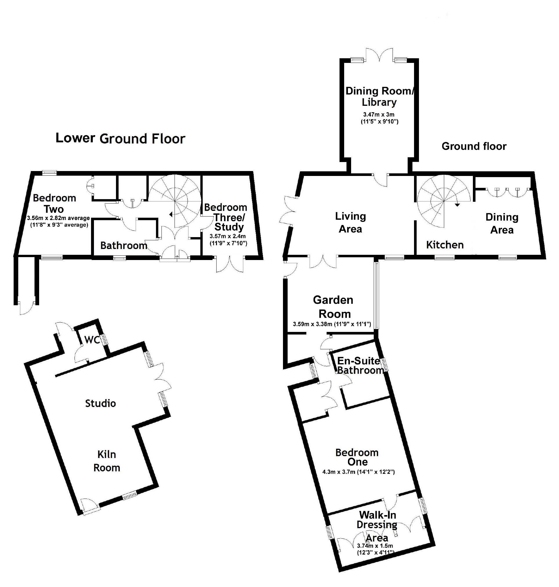 3 bedroom Detached House for sale in Brockweir