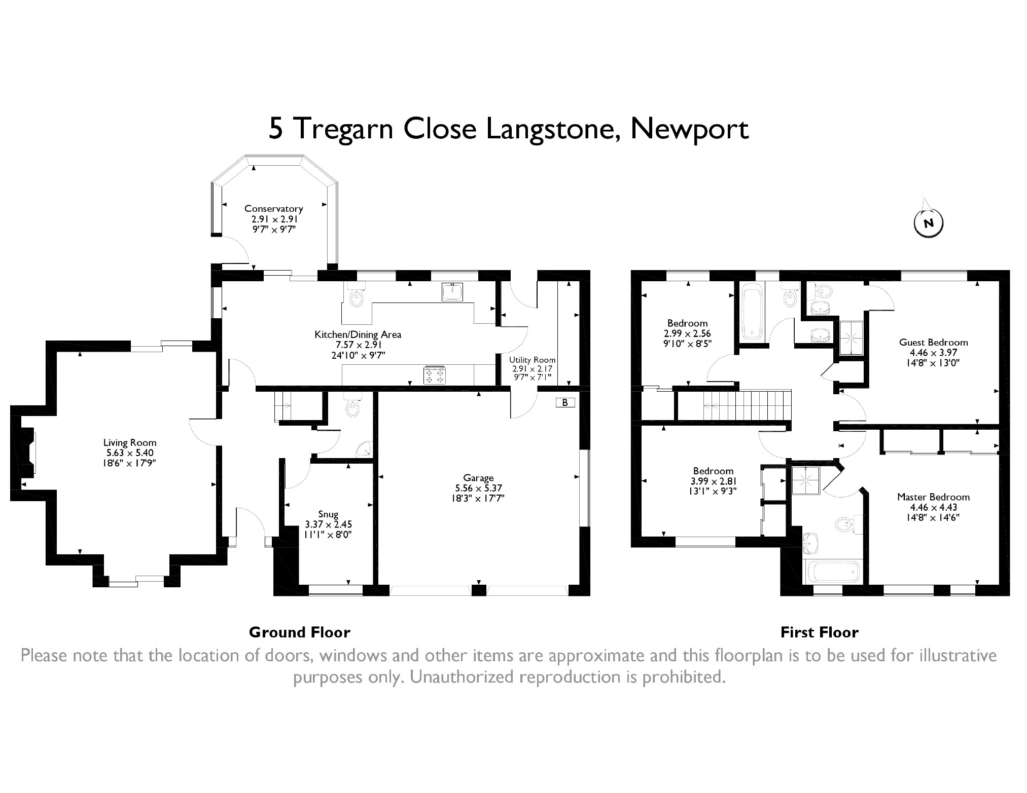 4 bedroom Detached House for sale in Langstone