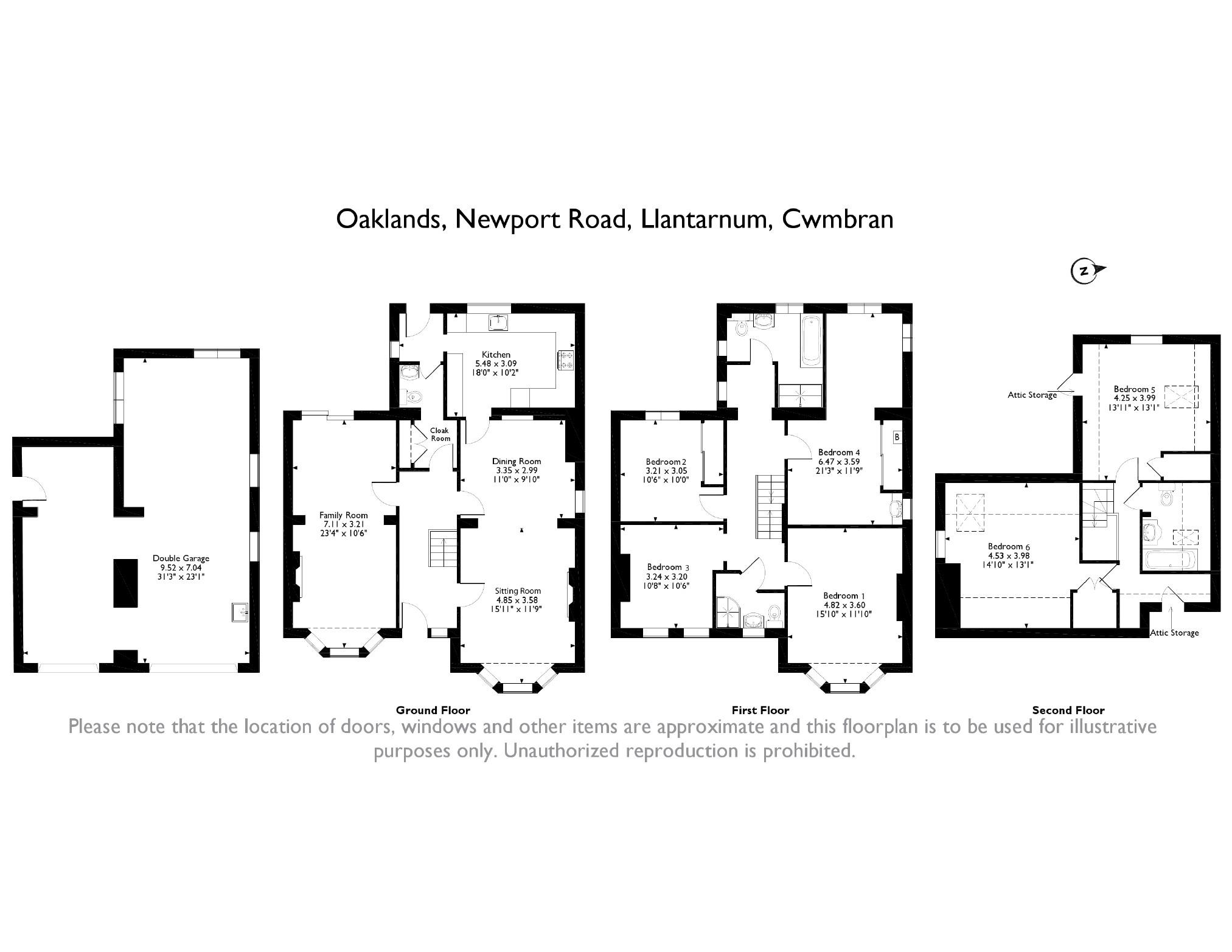6 bedroom Detached House for sale in Llantarnam