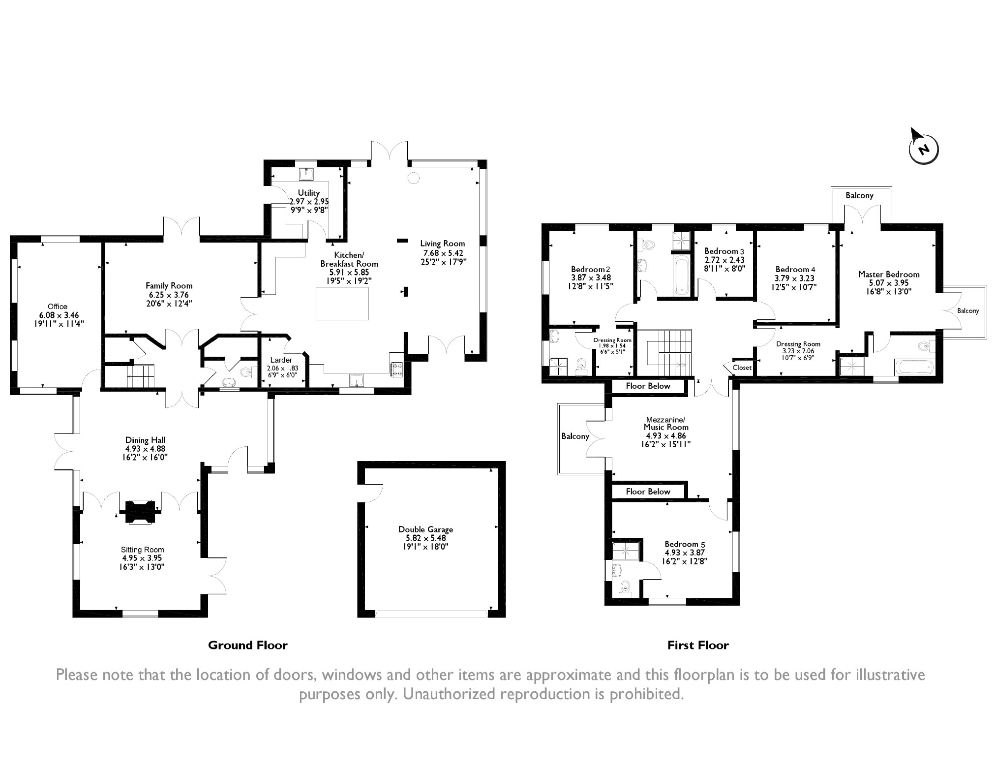 5 bedroom Detached House for sale in Rogerstone