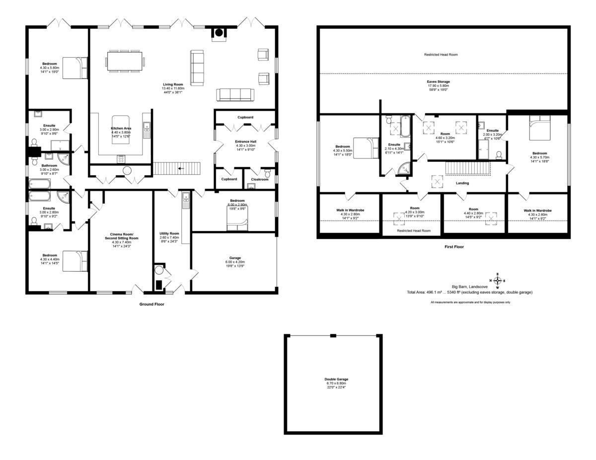 6 bedroom Barn Conversion for sale in United Kingdom