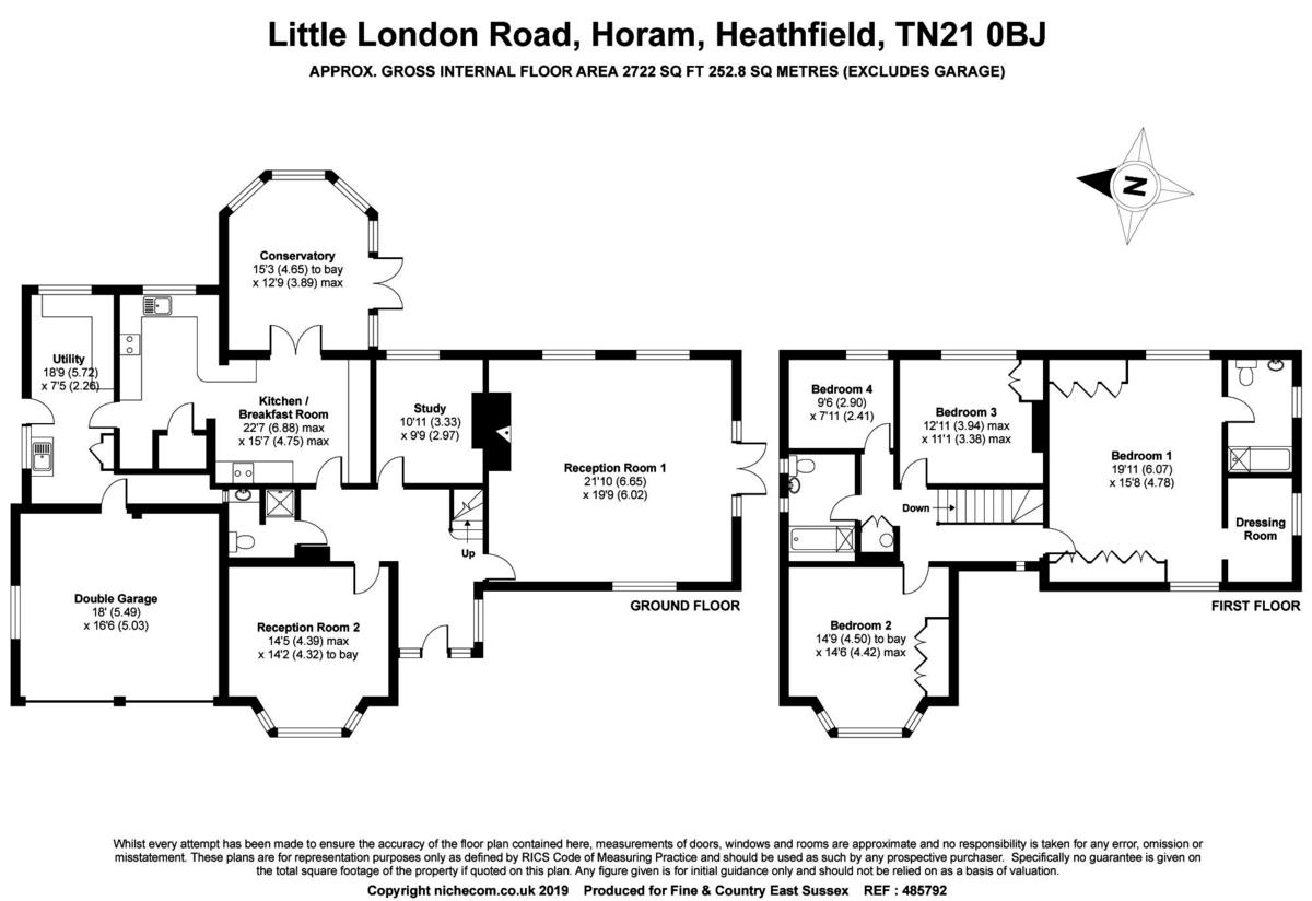 4 Bedroom Detached House For Sale In Heathfield