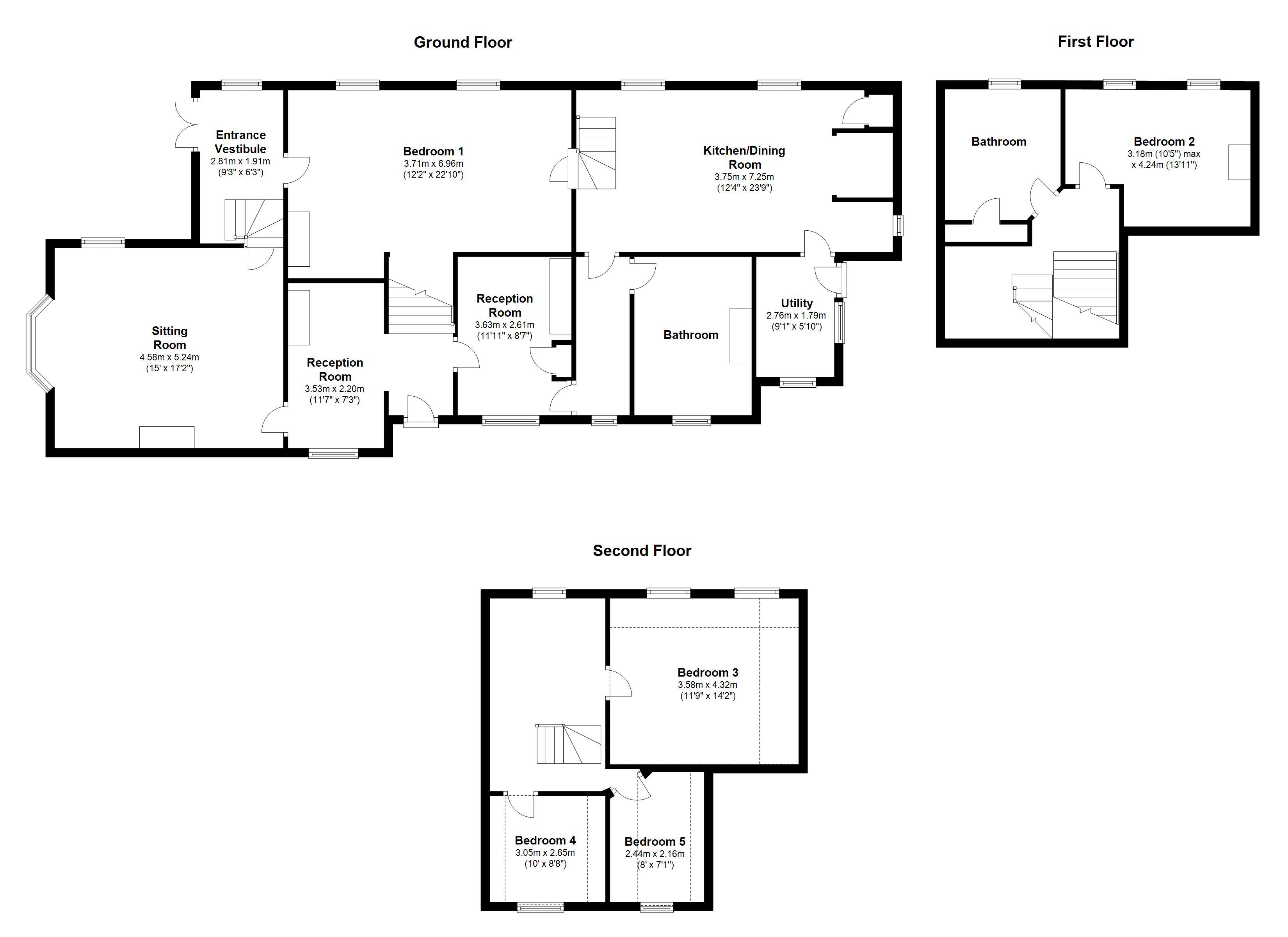 5 Bedroom House For Sale In Llangoedmor