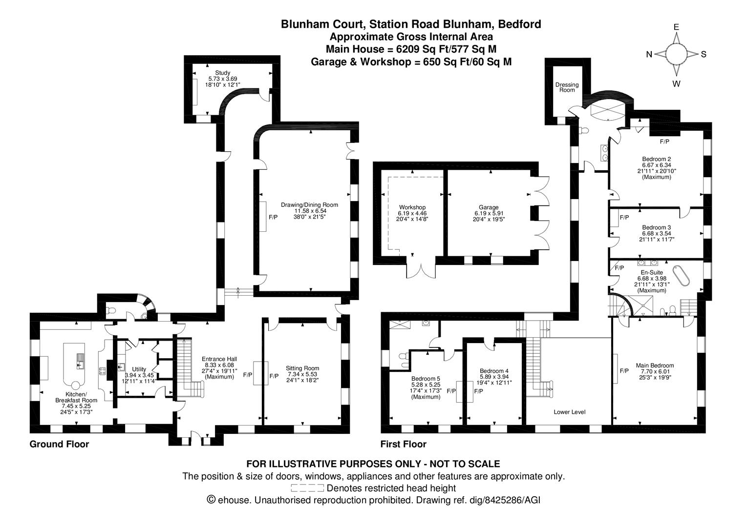 5 Bedroom Country House For Sale In Bedford