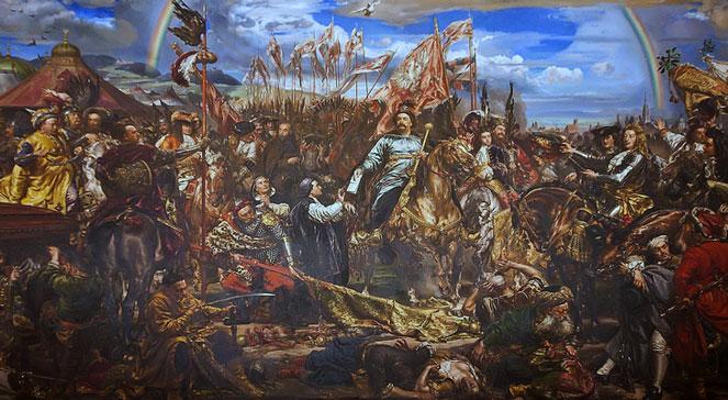 Jan III Sobieski wysyła wiadomość o zwycięstwie papieżowi Innocentemu XI  obraz Jana Matejki