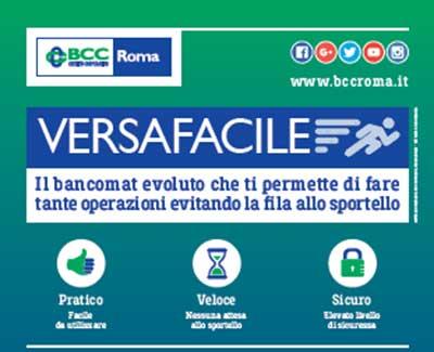 Bcc Roma Servizio Versafacile