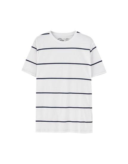 Thin striped short sleeve  shirt also men   shirts spring summer pull bear rh pullandbear