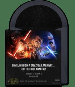 free star wars online invitations