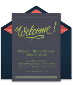 Housewarming Party Online Invitations
