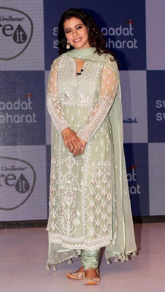 Kajol wearing Salwar