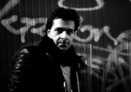 A portrait of my friend, the artistMiltos Manetas at night, Avenue Parmentier,…