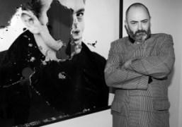 Douglas Gordon at the opening night of Decadences,a group exhibition ofGardar Eide…