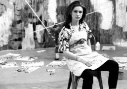 Interview with artist Tali Lennox at her studio, New York