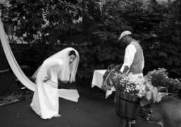 Japanese actress Sakura Ando's marriage ceremony, Tokyo. Photo Chikashi Suzuki