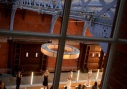 A view of the Toga S/S 2015 presentation at theSt. Pancras Renaissance…
