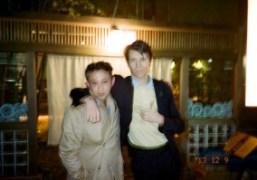 Chikashi Suzuki and Ryan McGinley in Tokyo. Photo Chikashi Suzuki