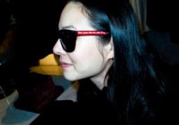 Barbara Kruger X Freeway Eyewear X Foryourart event at Maxfield, Los Angeles