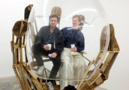 """Peter Coffin, Willy Le Maitre, and Agathe Snow's """"The Weird Show"""" at..."""