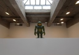 Haim Steinbachcreature at theTanya Bonakdar Galleryas part of his first solo exhibition,…