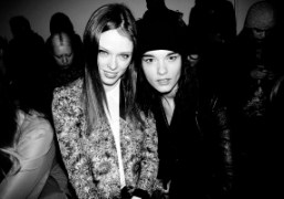 Front Row at Helmut Lang F/W 2013 Show, New York