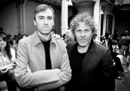 Raf Simons and Renzo Rosso after the Maison Martin Margiela Haute Couture…