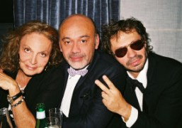 Purple's 20th anniversary party hosted by Diane Von Furstenberg (III), Paris
