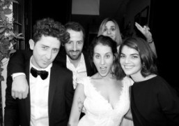 Dustin Dollin and Emilie Kareh's wedding party at Le Derrière (Part II),...