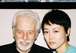 Alejandro Jodorowsky and Rinko Kikuchi in Tokyo. Photo Chikashi Suzuki