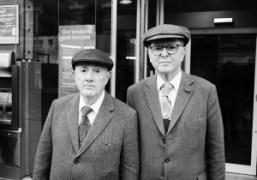 The legendary artistsGilbert and George, London. Photo Flo Kohl