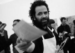 RIRKRIT TIRANVANIJA'S ANTI-HYDRAULIC FRACTURING PROTEST WITH GAVIN BROWN AND MARK RUFFALO at...
