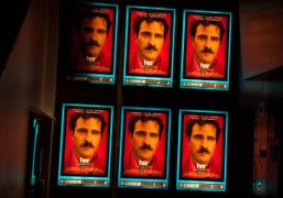 Posters of Spike Jonze's new film HER starring Joaquin Phoenix at Regal…
