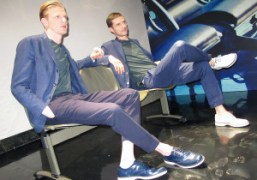 Hogan S/S 2014 Men's collection presentation, Milan.