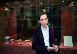 Christopher Niquet after the ChanelCouture F/W 2012-13 show at theGrand Palais, Paris….