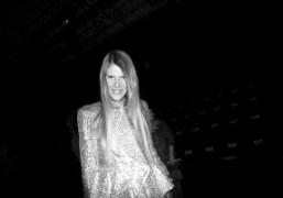 Anna Dello Russo after the Giorgio Armani PrivéF/W 2012 Show atThéâtre National…