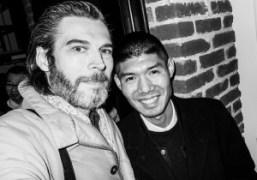 Purple Art Director Gianni Oprandi and Chinese photographer Ren Hang at his…