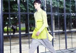 John Galliano Men's S/S 2014 show at Cité de la Mode et...