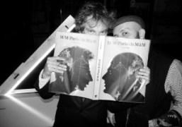 """The launch of M/M (Paris)'s new monograph """"M/M (Paris) de M à..."""